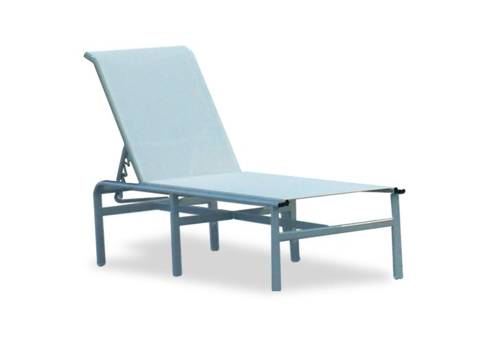 commercial sling chaise lounge d 150 aluminum chaise lounges. Black Bedroom Furniture Sets. Home Design Ideas