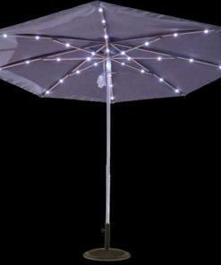 7.5ft Solar Light Umbrella