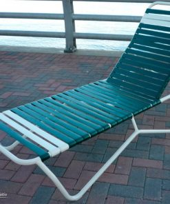 Commercial Strap Chaise Lounge - A-100 by Florida Patio