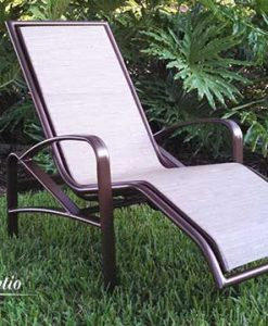 Ergonomic Outdoor Lounge Chair - E-175