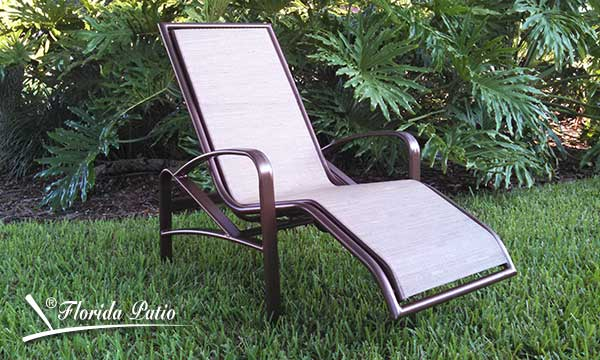 Ergonomic Outdoor Lounge Chair E 175 Chaise Lounge