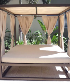 Outdoor Daybed with Canopy by Florida Patio