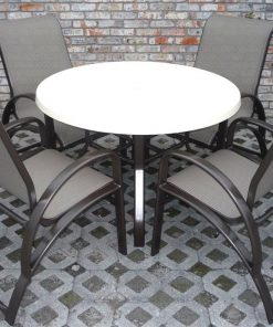 E-50 4 Dining Chairs/Table Set