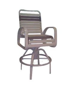 Eclipse Strap Swivel Bar Chair - EC-375