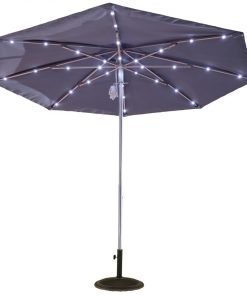 9ft Solar Light Umbrella