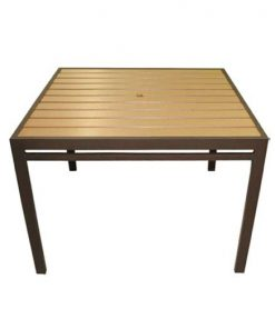 "42"" Square Eco Wood Table"