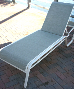Commercial Sling Chaise Lounge - I-149