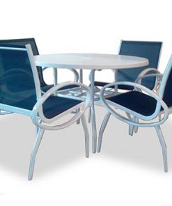 Sling Dining Set for 4 - Island Breeze