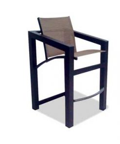 Outdoor Aluminum Bar Stools - M-75