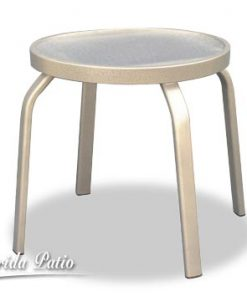 Aluminum End Table - R-18A by Florida Patio