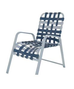 Regal Cross Strap Dining Chair - R-50C
