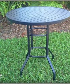 "RB-36Punch 36"" All Aluminum Bar Height Table"
