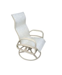 E-351 High Back Swivel Rocker Patio Chair
