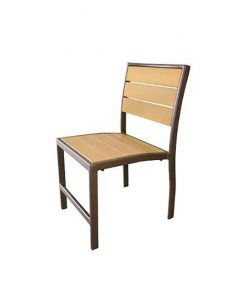Eco Wood Armless Dining Chair - EW-49