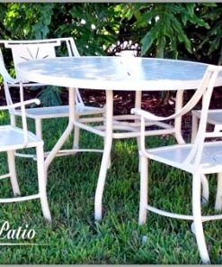 Sheet Cast Patio Sets - 100% Pure Aluminum