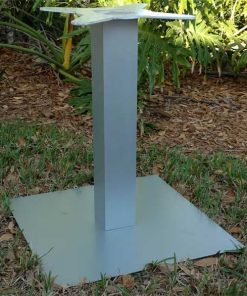 Square Pedestal Table Base