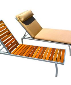 Teak Lounge with Cushions