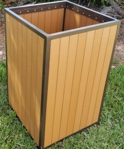 EW-99 Eco Wood Trash Bin