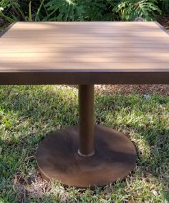 Eco Wood Pedestal Base Table